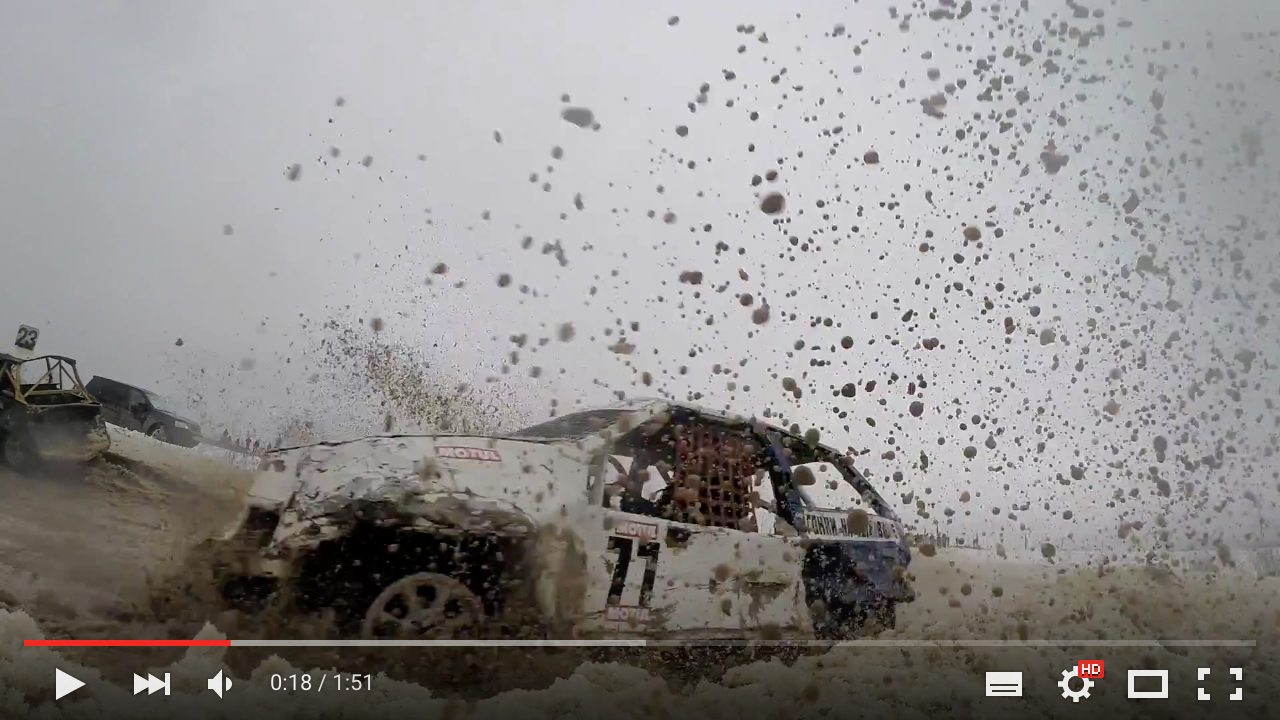 Видеоролики о «Гонках на выживание»